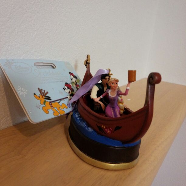 Rapunzel and Flynn Disney Sketchbook Ornament