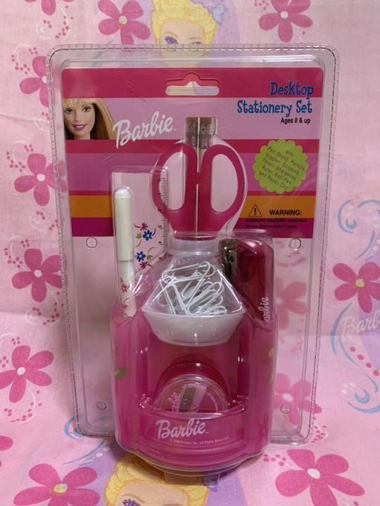 Barbie desktop stand