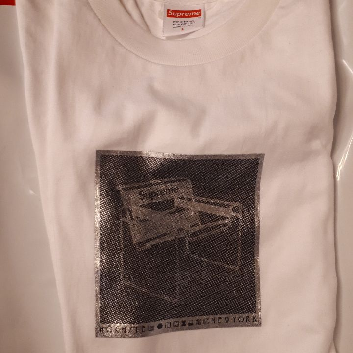 SUPREME Chair tee White Large