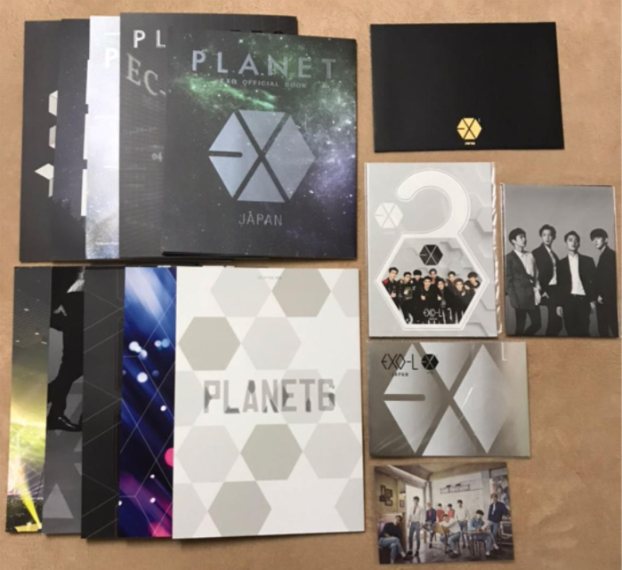 EXO fan club newsletter